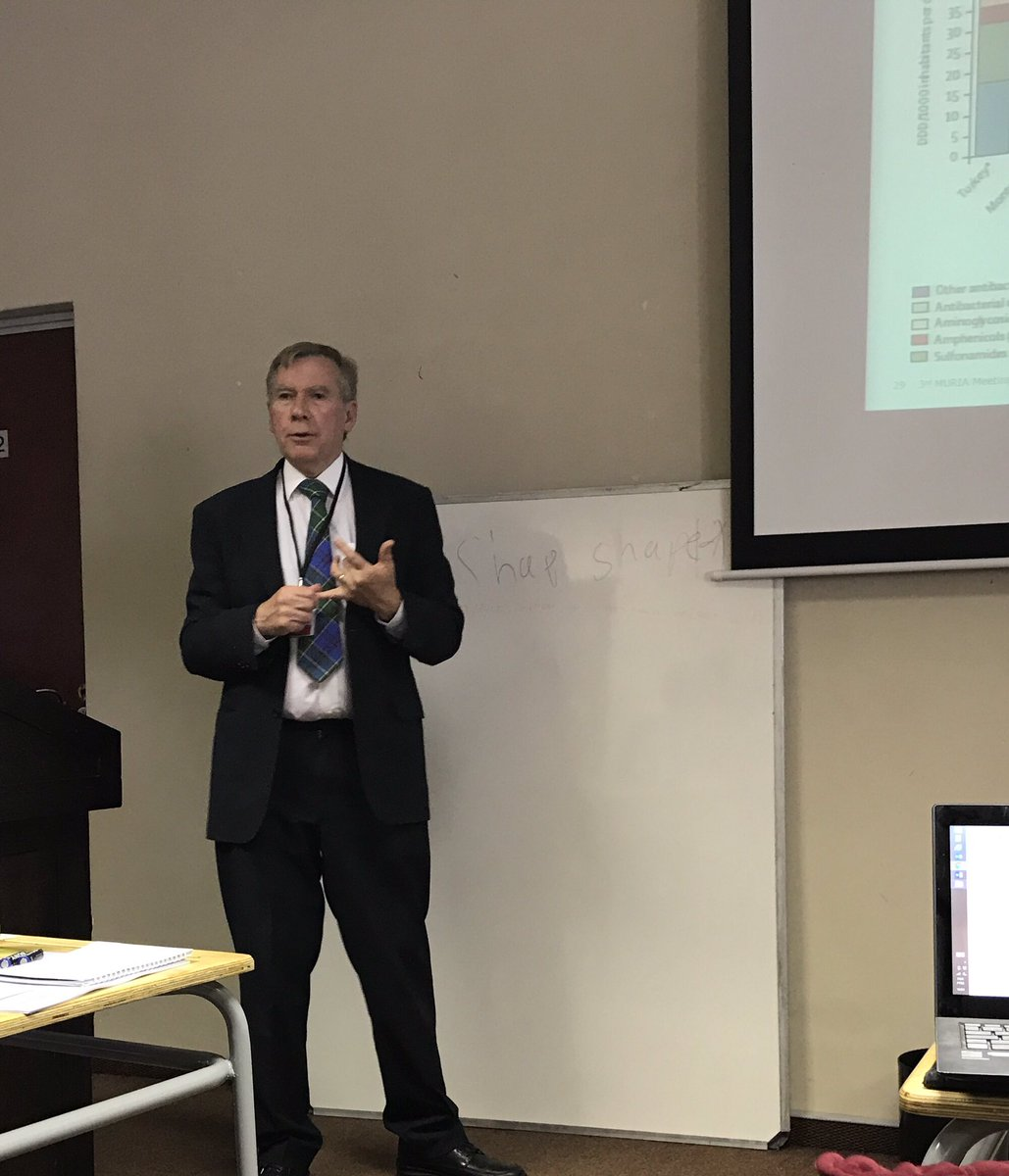 Brian Godman presenting on developing &amp; implementing #quality #indicators for #DUR studies #muria2017 #Namibia @SMU_PHPM @SMUClinPharm<br>http://pic.twitter.com/3yrPOLGPRD