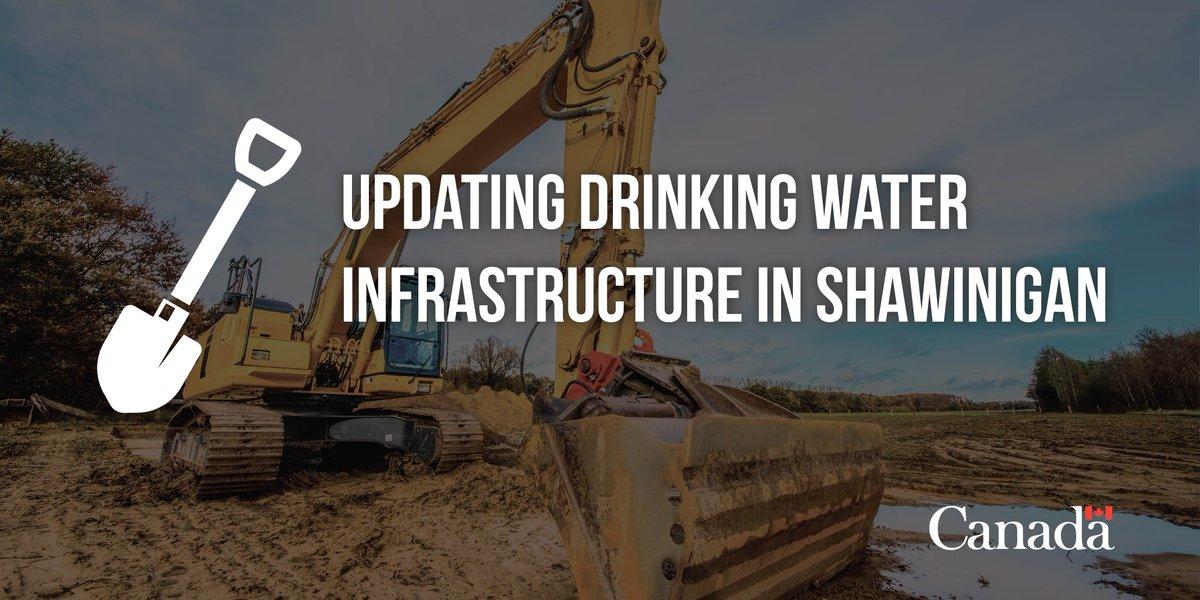 Project under way to upgrade #Shawinigan's drinking water system #GoC #polqc #CDNmuni  http:// infc.gc.ca/f585  &nbsp;  <br>http://pic.twitter.com/HcaEMa2u7m