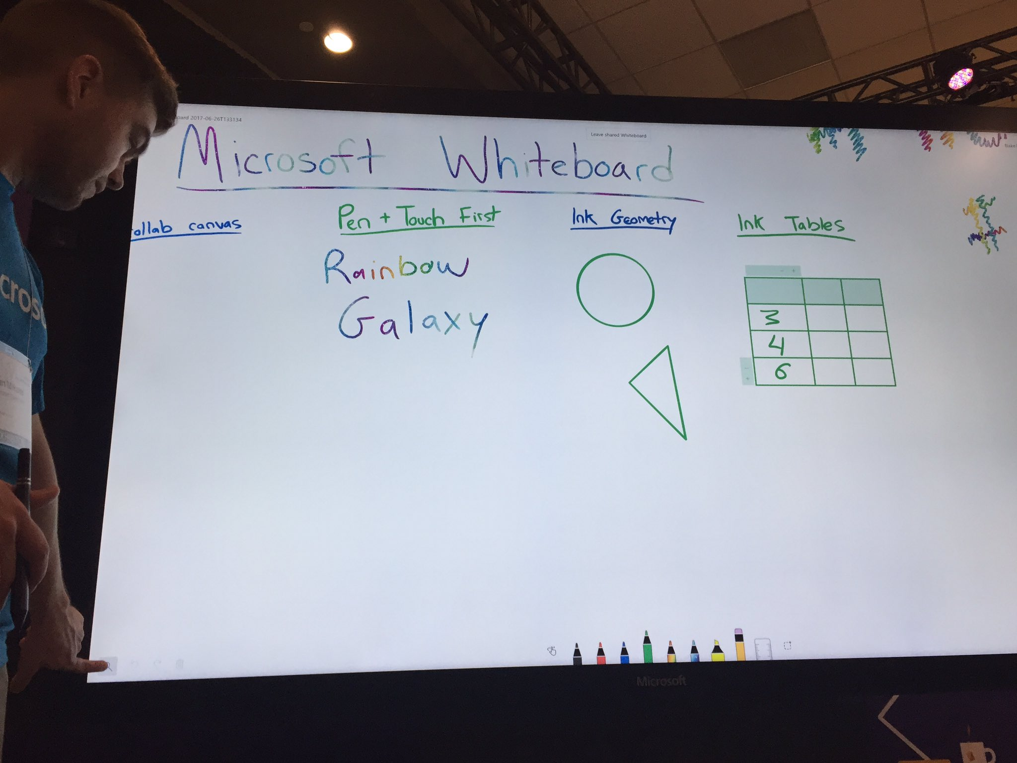"Checking out  ""Microsoft Whiteboard"" software being released for all Win 10 devices by year end. Interesting for our IFPs  #fcpsiste https://t.co/DjFaxeCZf9"