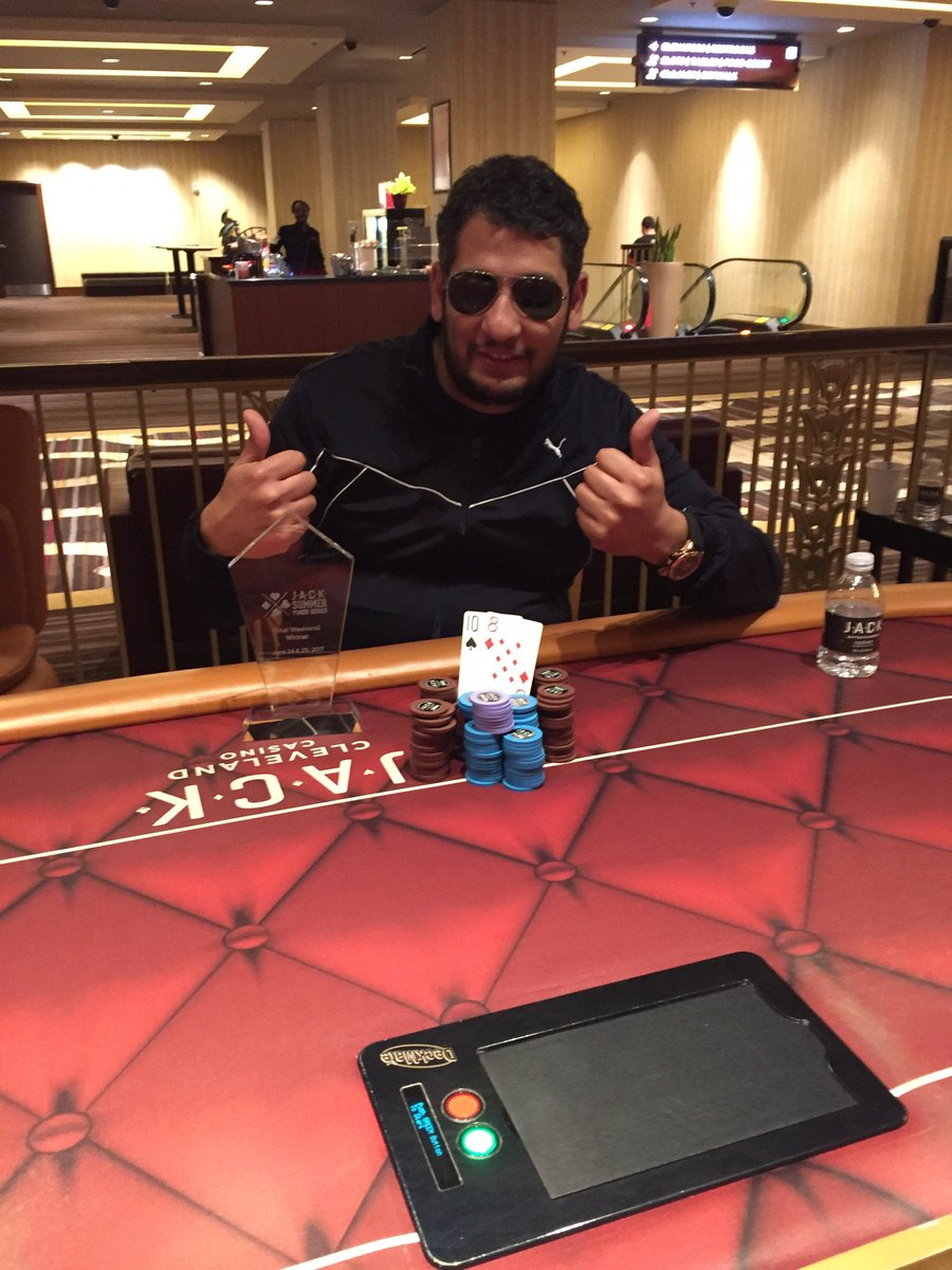 #JSPS Congratulations! David won the Final Weekend Tournament of the JACK Summer Poker Series for $19,000. <br>http://pic.twitter.com/ZUYbc7p0fg