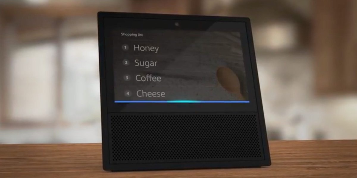 Amazon demos how Alexa will use the Echo Show's screen ahead of launch...