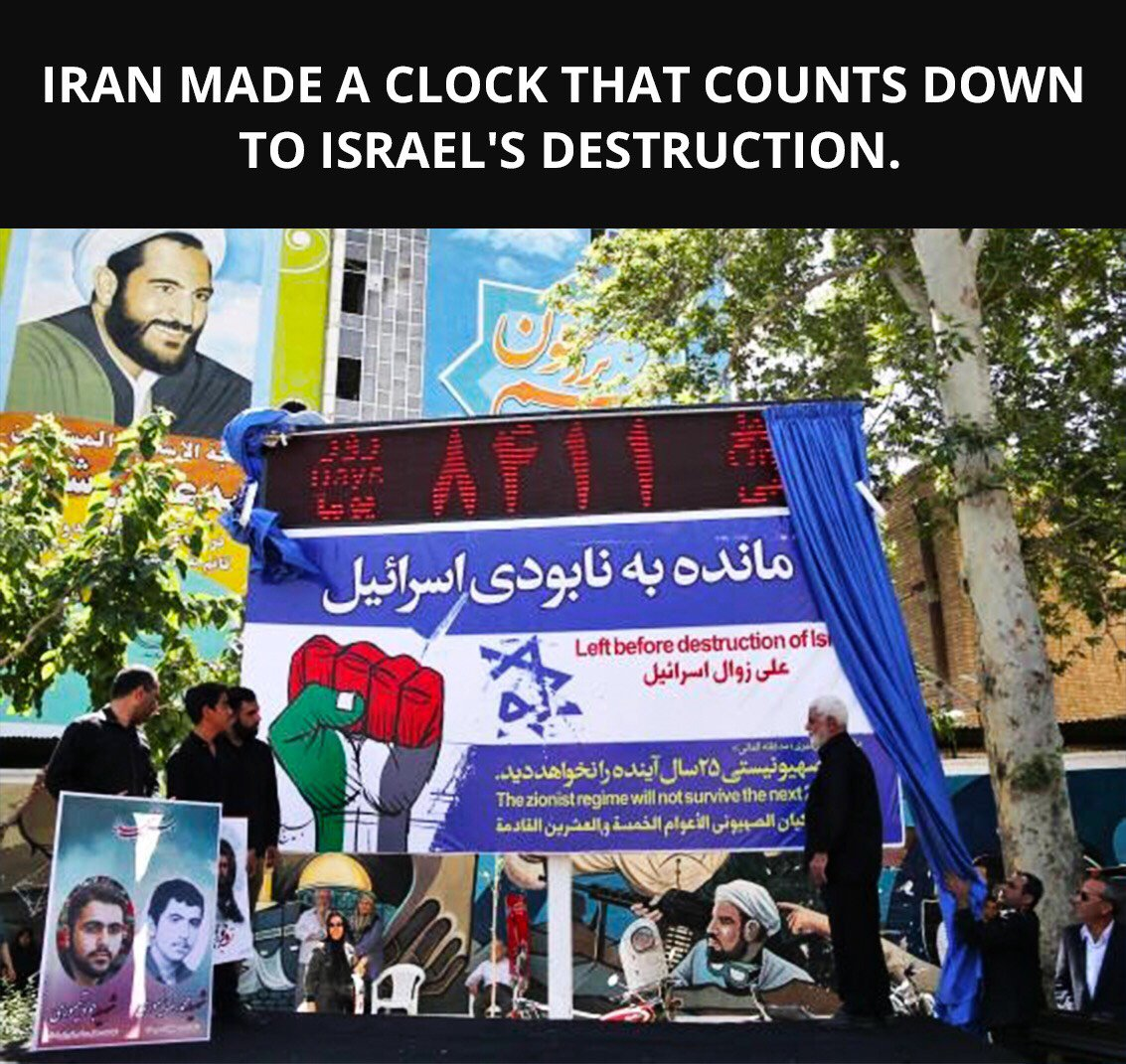We were here long before the Ayatollahs took the Iranian people hostage, and we'll be here long after their regime is a footnote of history.