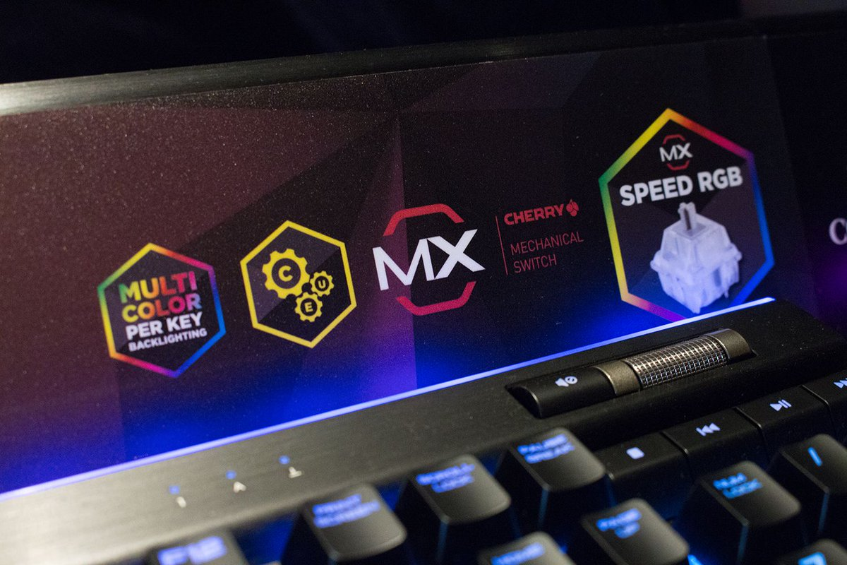 Cherry Mx On Twitter Solution Its The Corsair K95 Rgb Platinum Mechanical Gaming Keyboard Speed A True Flagship With Cherrymx Silver Switches