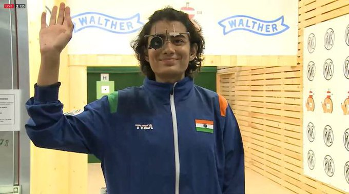 Congratulations #YashaswiniSingh for winning Gold at the Women's 10m air pistol event at @ISSF_Shooting Junior World Championship! https://t.co/u2nHVyKpfz