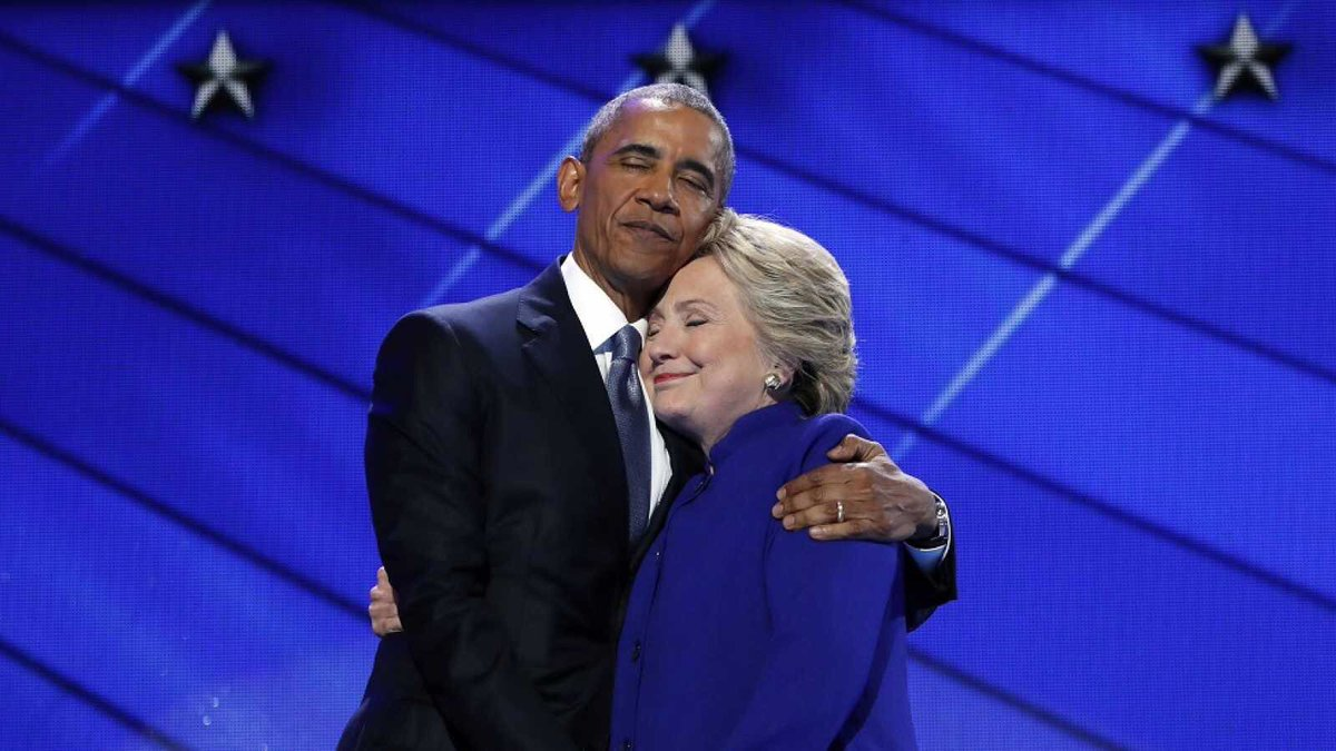What a pathetic pair. HRC lied about Benghazi to help Barry. Barry said nothing about Russian to help HRC. #tcot #ccot #gop #maga<br>http://pic.twitter.com/diban3wQZL