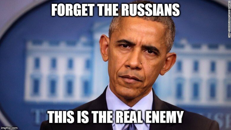 Dems have been saying for months that Russian meddling was attack on our Democracy. Then arrest this guy for treason. #tcot #ccot #gop #maga<br>http://pic.twitter.com/YjHyNh6R0w