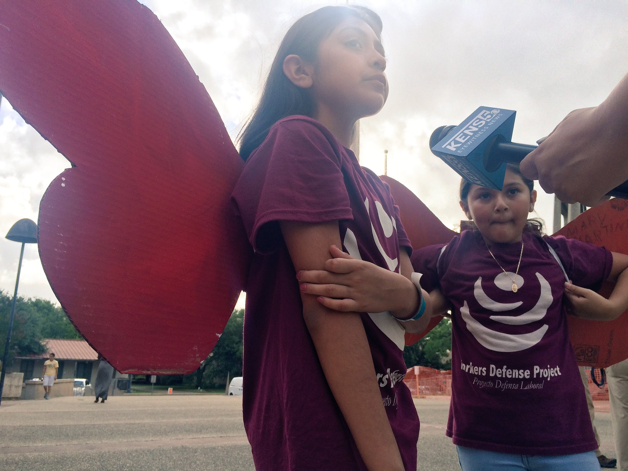 Lizbeth speaking to @KENS5 about why she needs to fight against sb4. #StopSB4 https://t.co/T6TRsUZAbH