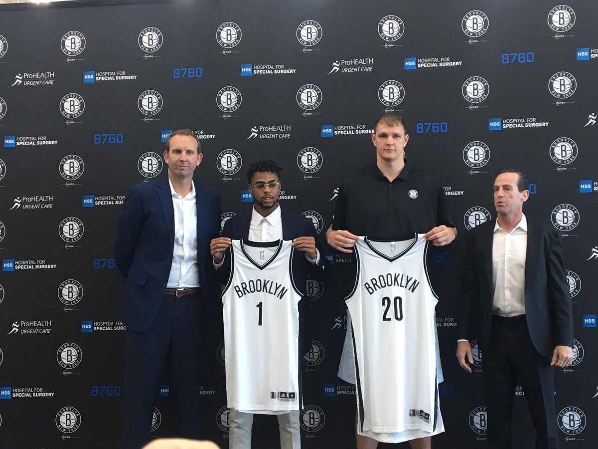 Image result for d'angelo russell timofey mozgov