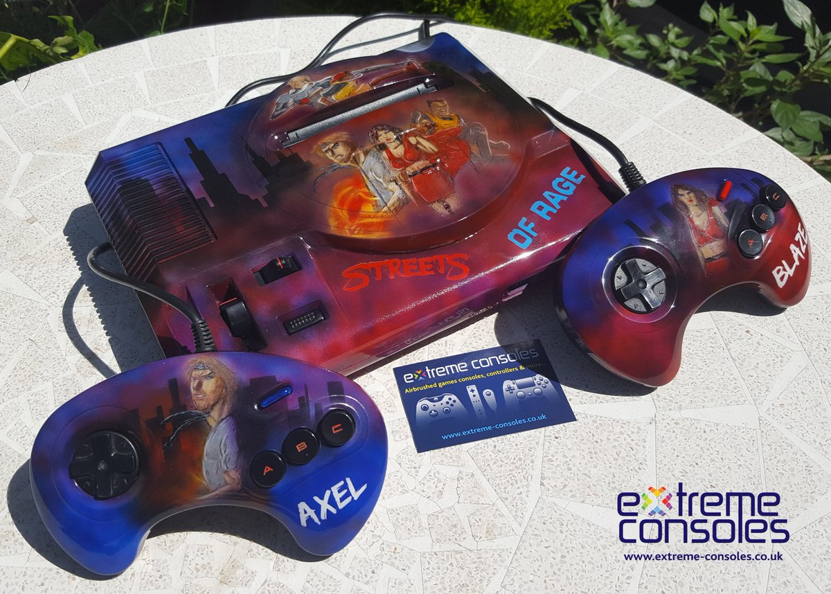 Lets kick this week off with this &#39;Street of &#39;Rage&#39; #megadrive console  #retrogaming #GamersUnite #customconsole #sega #gamers #gaming #RT<br>http://pic.twitter.com/ETeeykVTEM