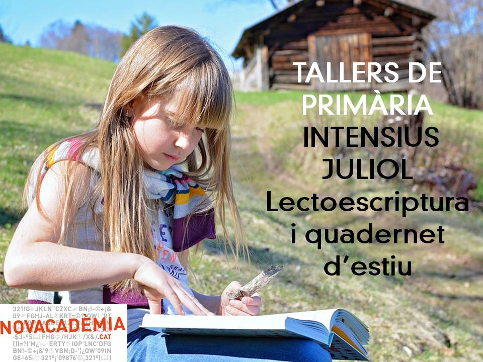#juliol #dilluns #dimecres i #divendres de 17.30 a 19 hores #novacademia #summer #méspermenys #caldesdemontbui #santfeliudecodines<br>http://pic.twitter.com/lXfn2BGAcA