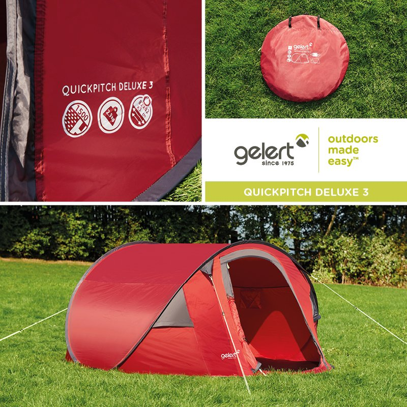 Pitching your tent has never been so easy! Shop the Quickpitch Deluxe 3 > https://t.co/wCixlA1esb https://t.co/FPEjc6q3Om