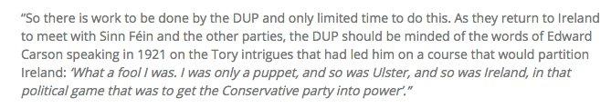 @mrjamesob Nice quote from Sinn Fein on their website https://t.co/Nd1Zo2fzOl