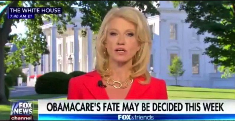 Kellyanne Conway says people who lose Medicaid should just find better jobs https://t.co/zKio4llcS3