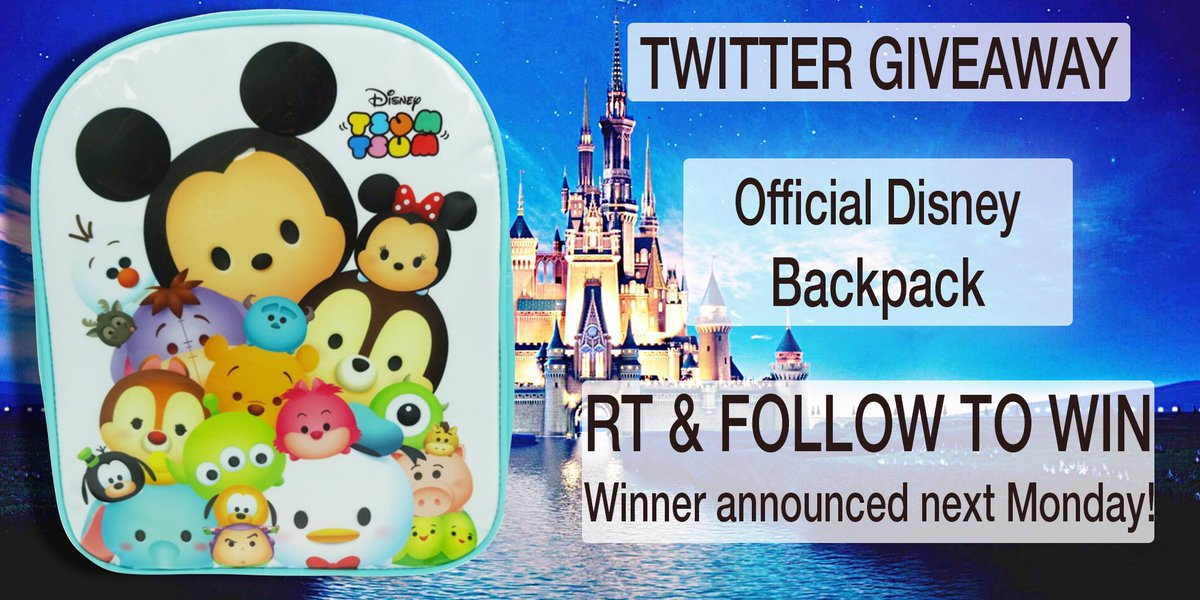 #Disney #TsumTsum Backpack #Giveaway! #Follow &amp; RT to #win! Ends 3/7 #competition #MondayMotivation #prize #compers #free #prizes #contest<br>http://pic.twitter.com/IscyGCkQaQ