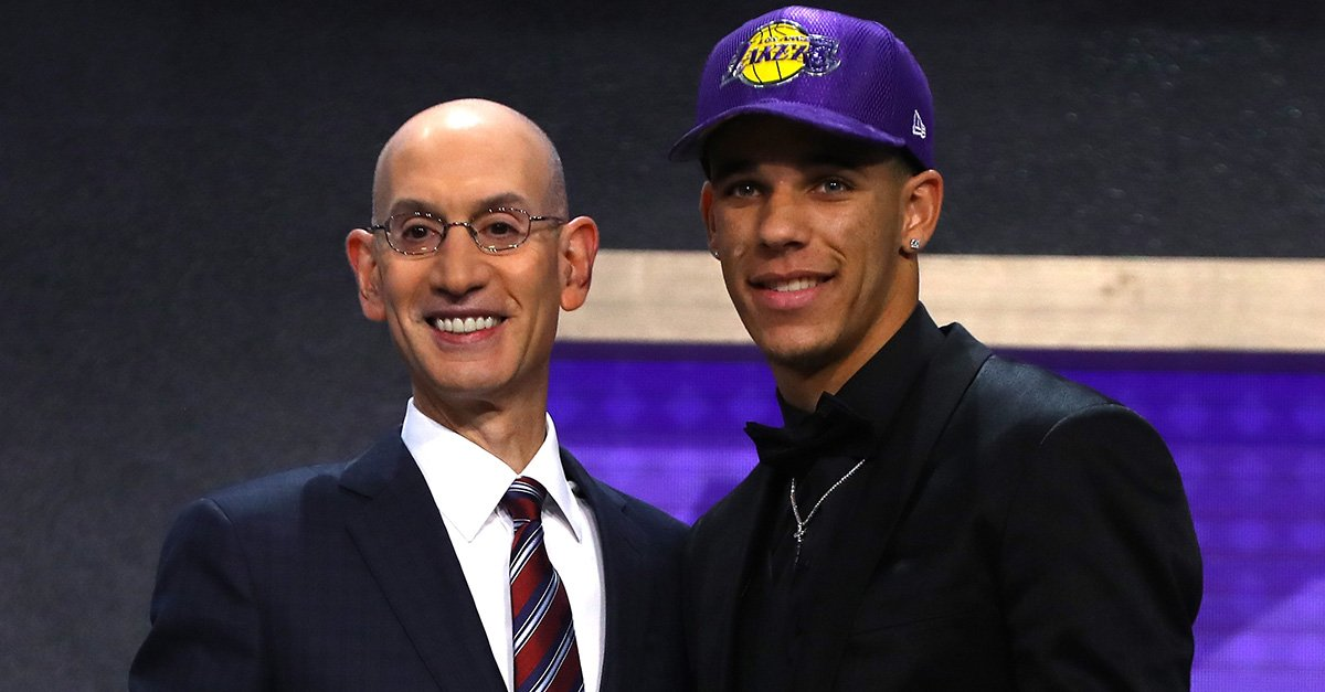 Adam Silver tells @dpshow that the NBA draft lottery 'isn't working' h...