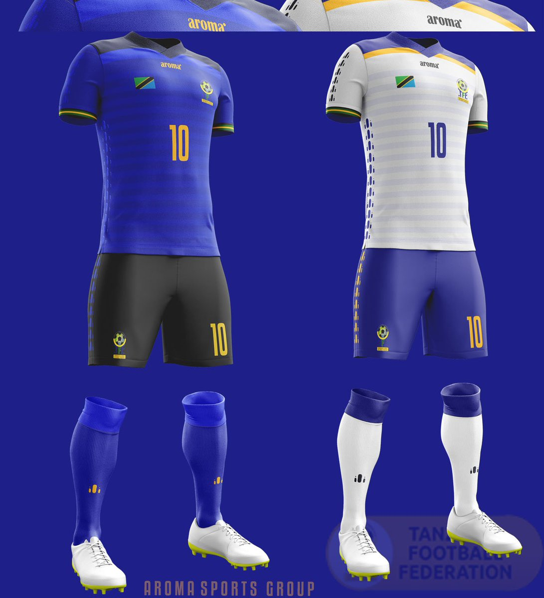 Tanzania&#39;s @TaifaStars_  Concept Kit made by #AromaSports #JivikeUjasiri  #Tanzania. <br>http://pic.twitter.com/H7lzrRhLUm