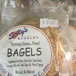 We've developed an awesome Free of Gluten Bagel! You can have your Eggel on it for only $1  extra... come try!!