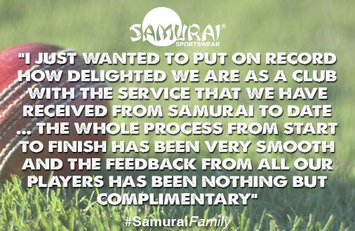 test Twitter Media - Thank you to @DissCC for their great feedback! Check out our teamwear catalogue and be a part of the #SamuraiFamily: https://t.co/V7KAJQM8kw https://t.co/wMlEAyNDZU