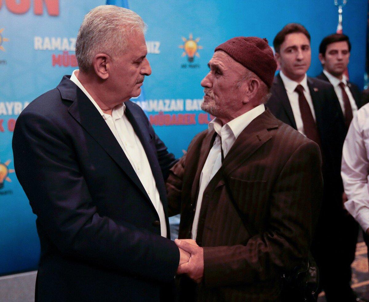 Başbakan Yıldırım, AK Parti Ankara İl Başkanlığınca düzenlenen program...