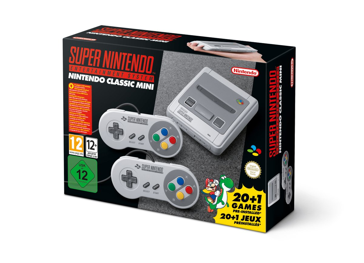 Super Nintendo Classic Edition DDQns-fXcAEKMqe