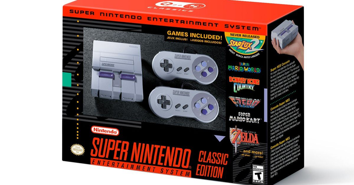 The SNES Classic is real, arrives on September 29th for $80 https://t....