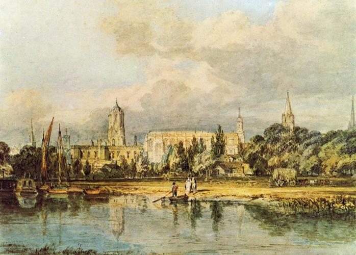 South View of Christ Church, from the Meadows #williamturner #turner <br>http://pic.twitter.com/NZVmObzmkw