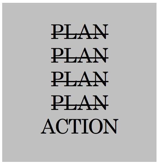 #MondayMotivation #plan #action #success