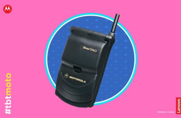 Did you know that the Motorola StarTAC is the first clamshell mobile to be manufactured? #DifferentIsBetter #HelloMoto  #SRA <br>http://pic.twitter.com/wnYkYYx1Um
