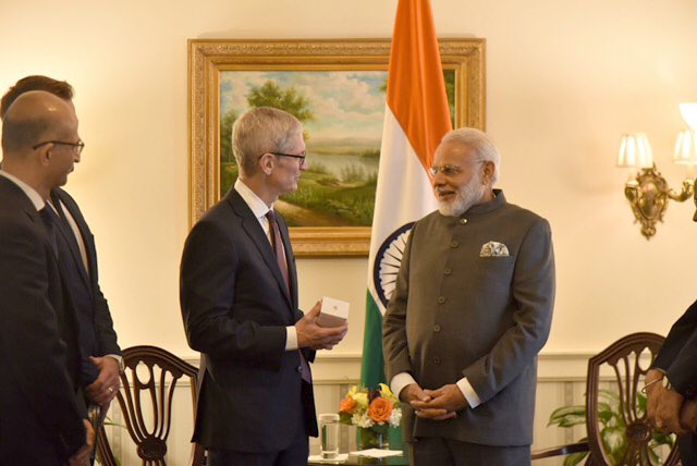Great to see you again @narendramodi. We're inspired by your vision for India and excited about what we can achieve together.