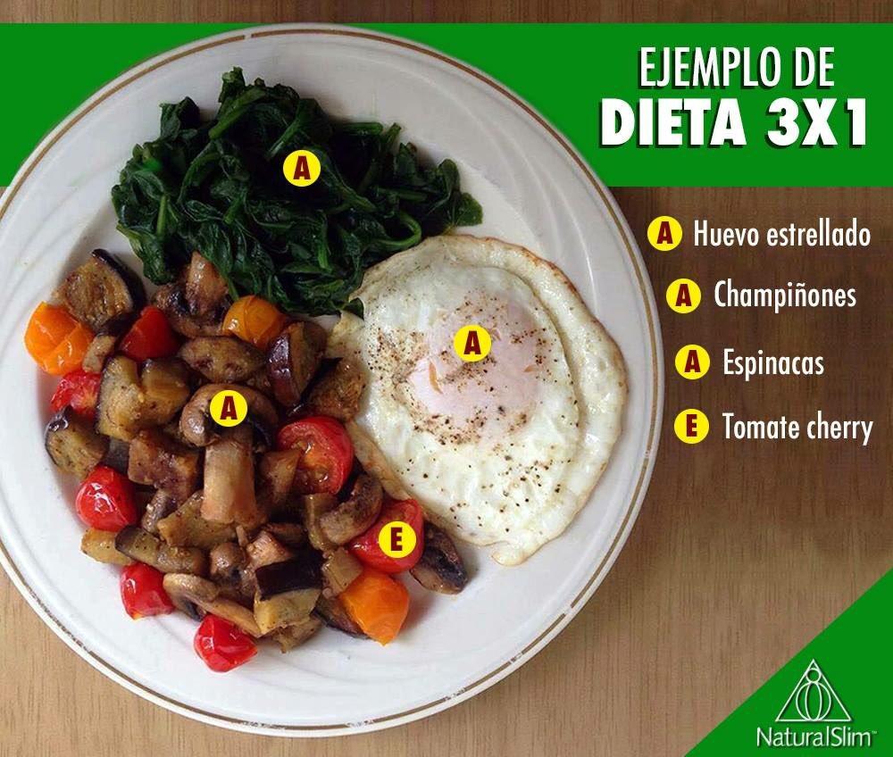 Desayuno dieta 3x1