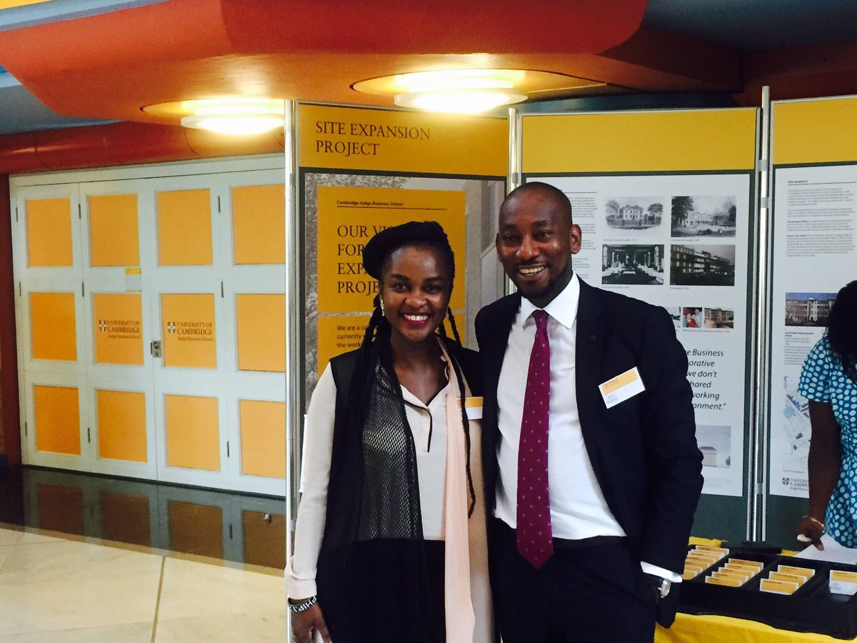 Our CEO @GOduneye &amp; @Lelemba of @ilovezoona @CambridgeABN  #Make an Impact <br>http://pic.twitter.com/Dn45L025vk