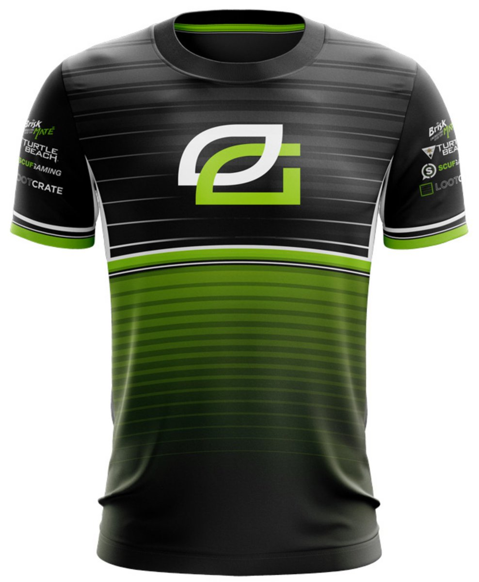 Time for another giveaway! RT AND FOLLOW for a chance to win a Custom Nickname OpTic Jersey, 3 winners will be announced Friday!