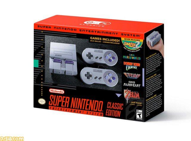 """小型スーパーファミコン""""SNES Classic edition""""が発表、9月29日発売。『スターフォックス2』など18以上作品を収録【海外..."""