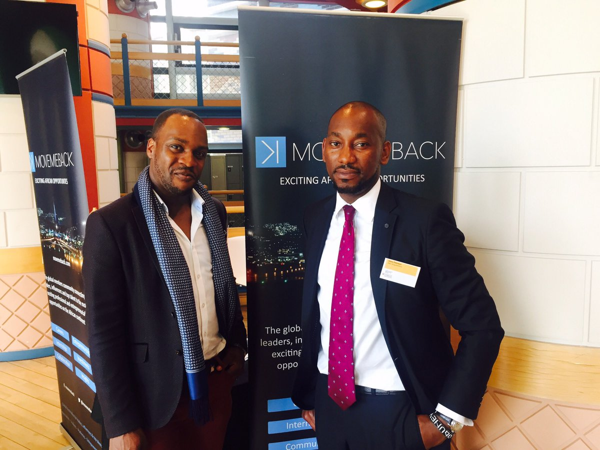 #Movemeback are doing a lot of exciting things in Africa.Our CEO @GOduneye &amp; @csekwalor of @Movemeback @CambridgeABN  #Make an Impact <br>http://pic.twitter.com/yaN9vQBVnY