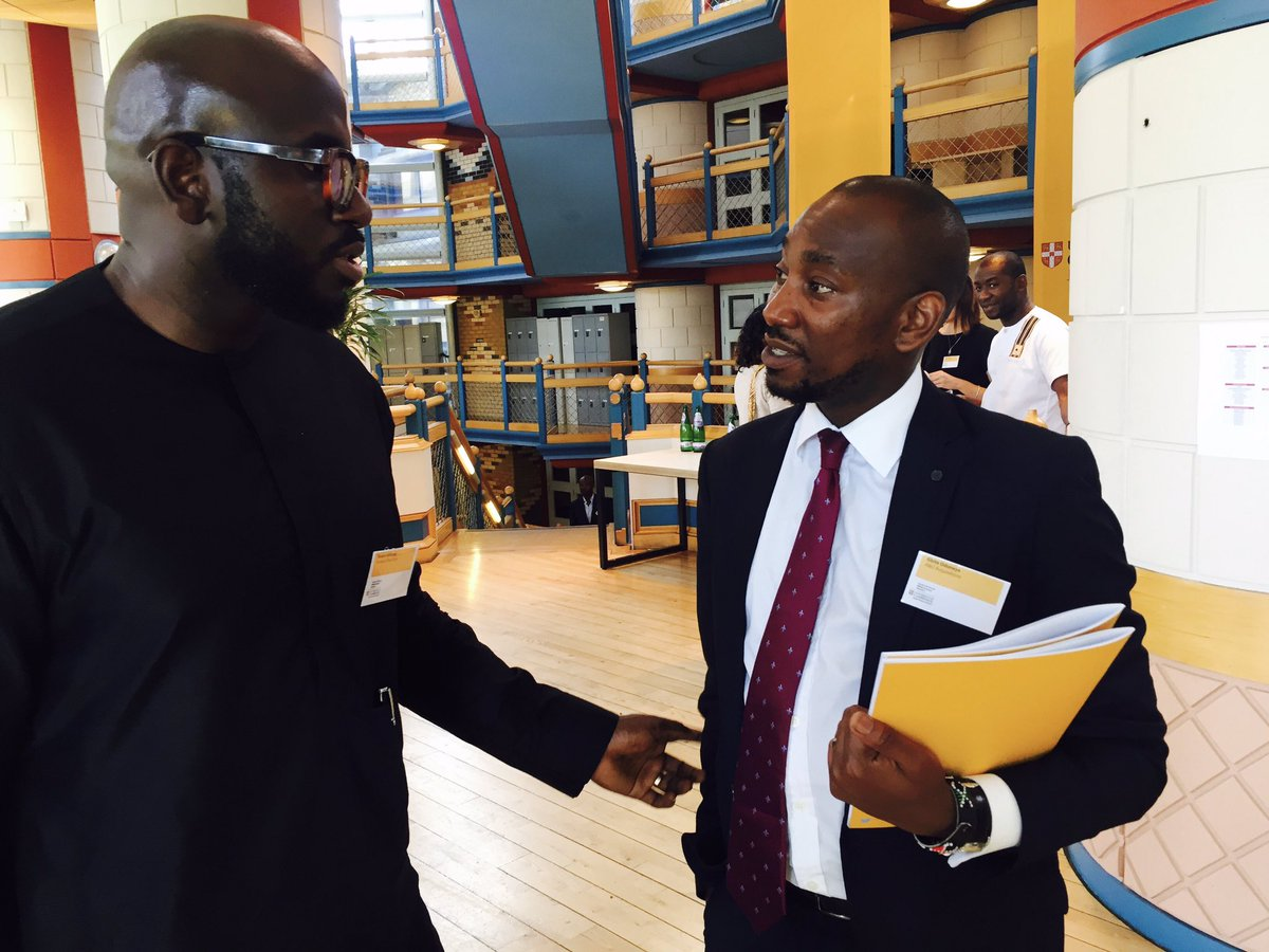 Our CEO @GOduneye &amp; #Rotimi Williams of Kereksuk Rice Farm, second largest commercial farm in Nigeria by size @CambridgeABN  #Make an Impact <br>http://pic.twitter.com/5jEOT6T1bO