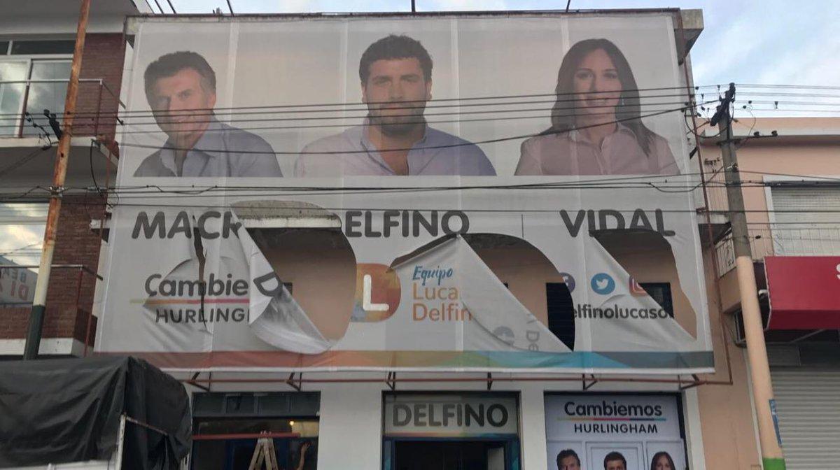 Elecciones 2017: vandalizaron locales partidarios de Cambiemos en Esco...