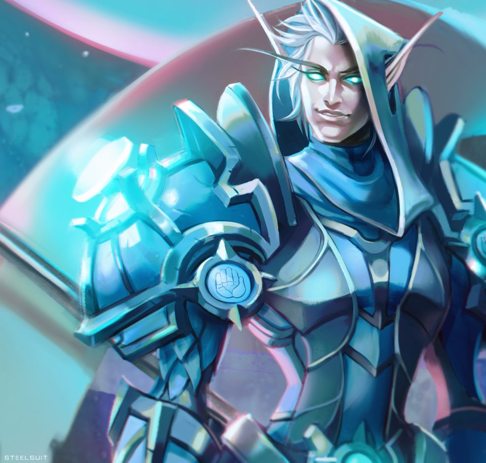 crop from a fullbody #Warcraft blood elf commission. <br>http://pic.twitter.com/rOBihAVbo4