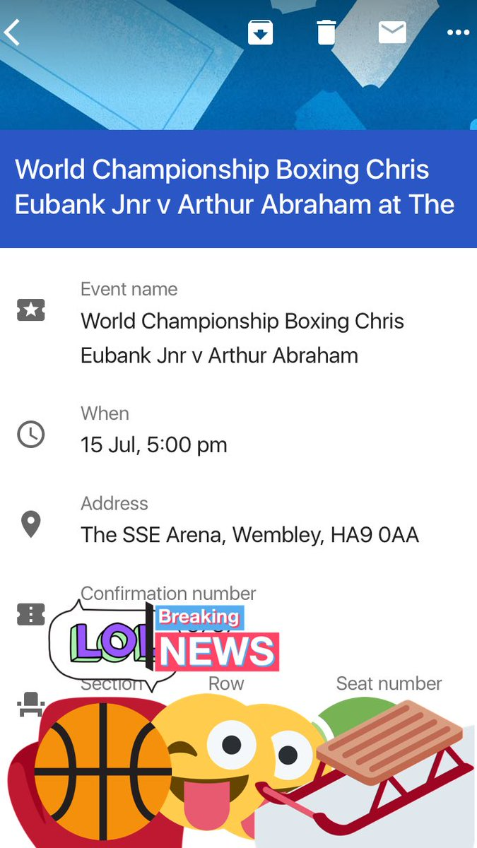 The Tickets are ready! Show some love and RT this to enter our draw. #eubankabraham winner announced in 12 days. #free #sharethelove <br>http://pic.twitter.com/ous0czCqxS
