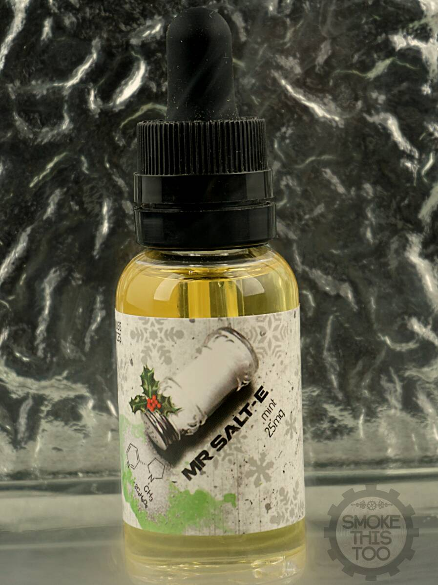 Smoke This Too On Twitter Mint Mr Salt Comes In 25mg Or 45mg Of E Liquid Nicotine 255 Pm 26 Jun 2017
