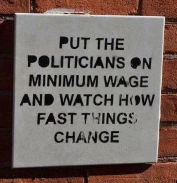 The only time we get universal agreement among politicians of all persuasions: The need for a pay rise for politicians. #auspol #corruption <br>http://pic.twitter.com/xpjTHJYtCm