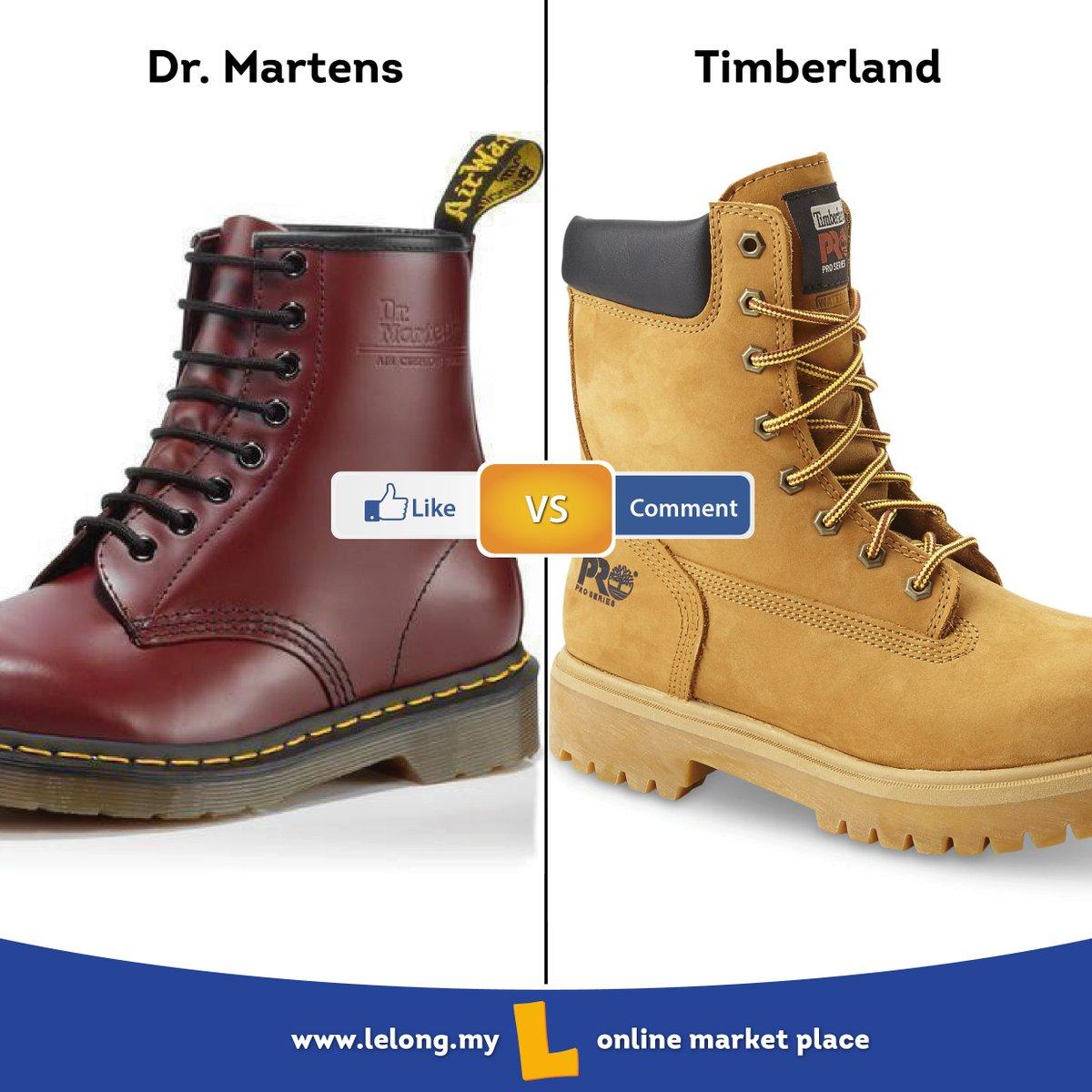 timberland dr martens