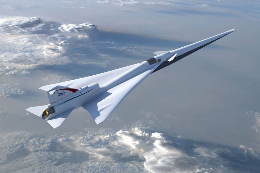 NASA and Lockheed Martin hope you don't hear this supersonic jet coming https://t.co/PjQDZFJl2w