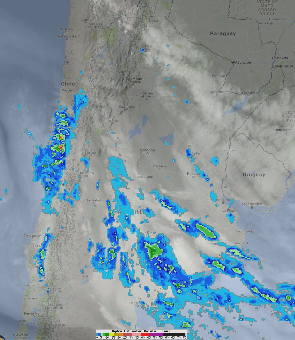 Rain and mountain snow continues across C #Chile but will wind down over the next several hours. <br>http://pic.twitter.com/bwWb7cMmG8