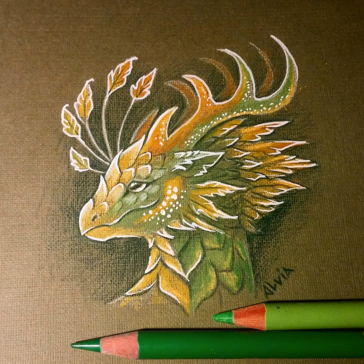 Dragon of a golden leafs forest  #dragon #fantasy #art #drawing <br>http://pic.twitter.com/3x4EB9ymKf