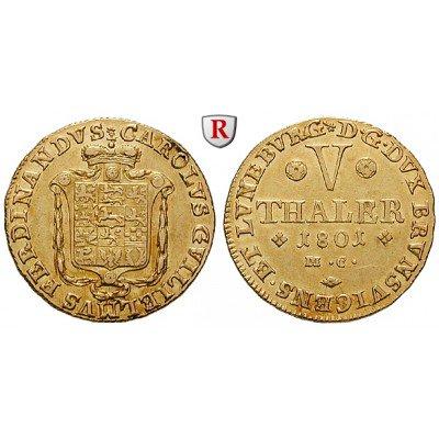 test Twitter Media - Braunschweig, Braunschweig-Wolfenbüttel, Karl Wilhelm Ferdinand, 5 Taler 1801, f.vz: Karl Wilhelm Ferdinand… https://t.co/GBviaSjAhx #coins https://t.co/beGodkY8QM