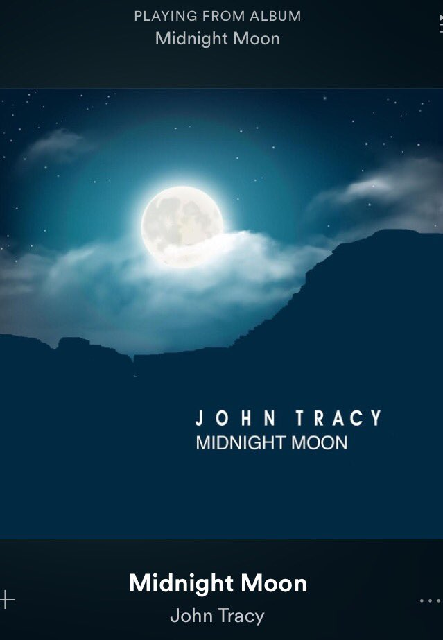 Listening to &#39;Midnight Moon&#39;    http:// ow.ly/byzA30aQrO3  &nbsp;   by @JohnTracyMusic #singer #vocalist #Spotify #Playlist <br>http://pic.twitter.com/H0aTo2vT1a