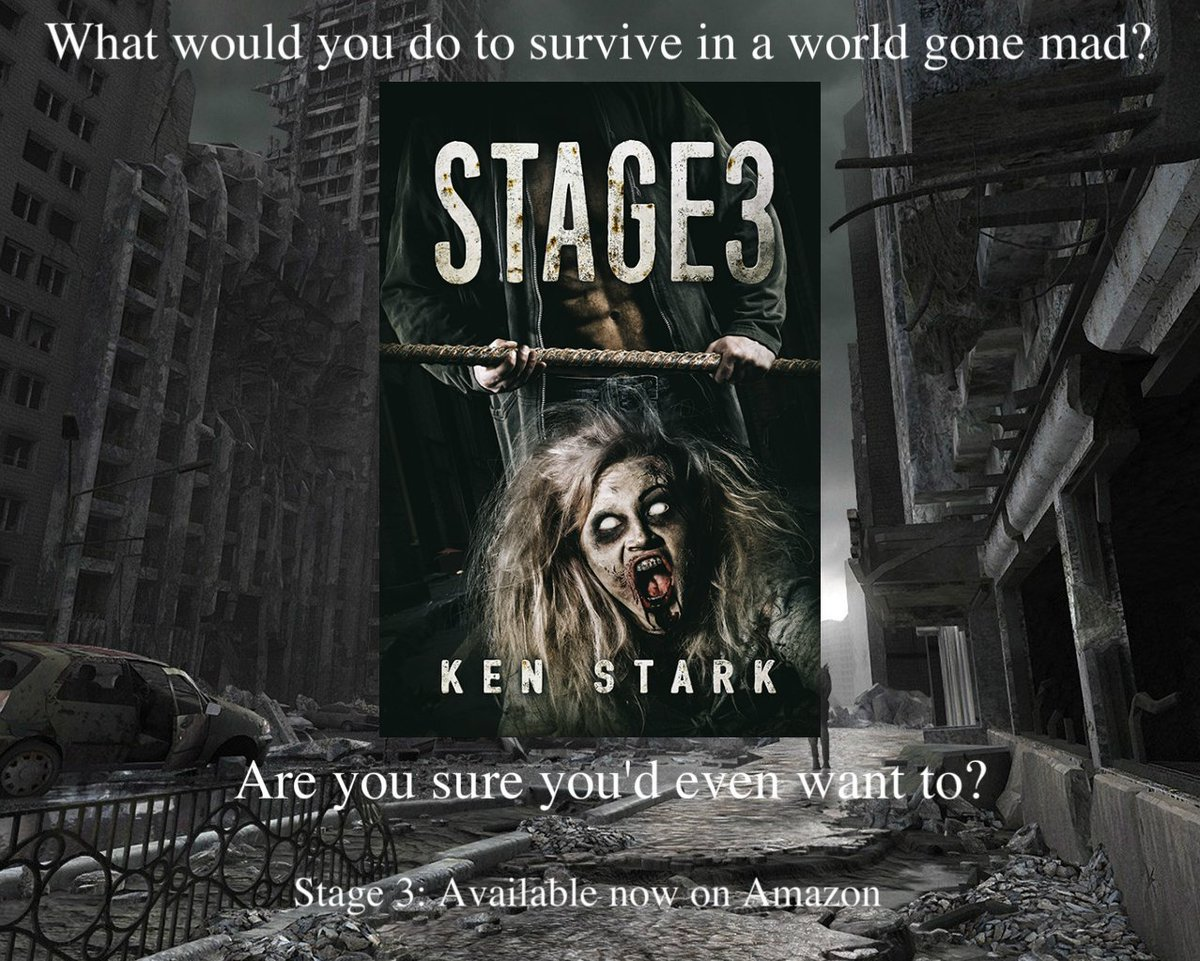 In a city of a million souls, he was alone. Completely, utterly, desperately alone #horror #zombie #apocalypse #book  https://www. amazon.com/Stage-3-Post-A pocalyptic-Thriller-ebook/dp/B01CYITYOS &nbsp; … <br>http://pic.twitter.com/3u2jC6A7w8