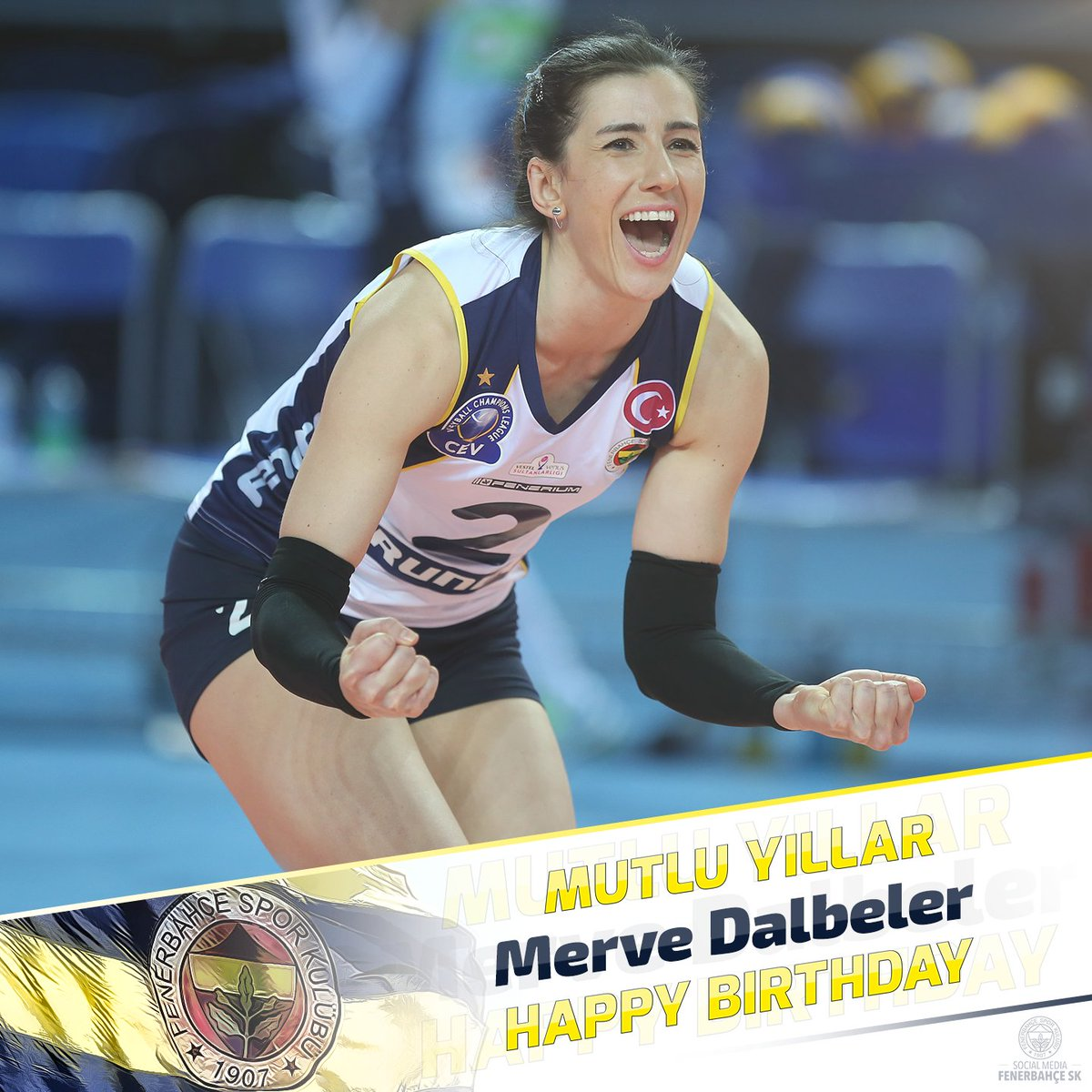 Bugün oyuncumuz Merve Dalbeler'in doğum...