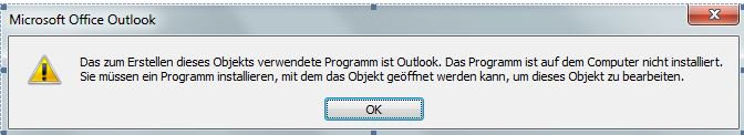 C&#39;mon #microsoft - #Outlook explains me to not being installed on my computer... What next - patch will be sent by eMail attachement? <br>http://pic.twitter.com/8EMuwYQvKS