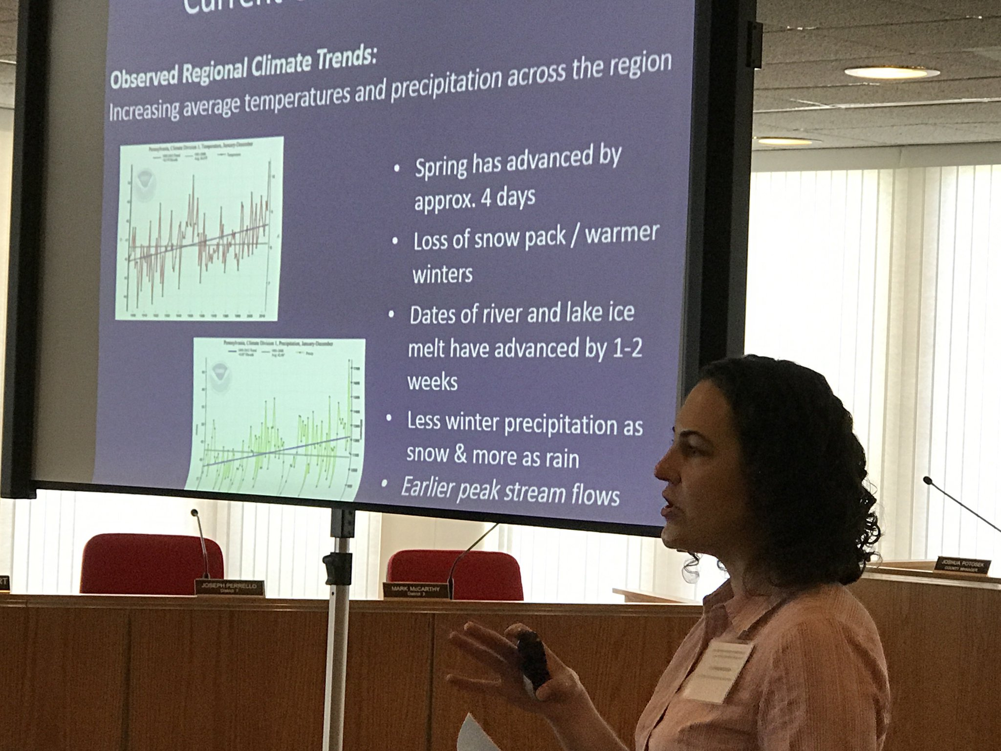 Stephanie P. Dalke, Pinchot Institute for Conservation at Watershed Resiliency conference in Monticello, NY https://t.co/8ic2Z7kPKH
